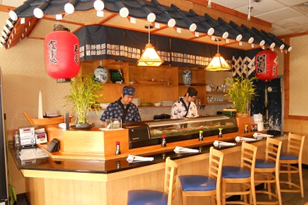 Sushi restaurant in New Jersey, U.S.