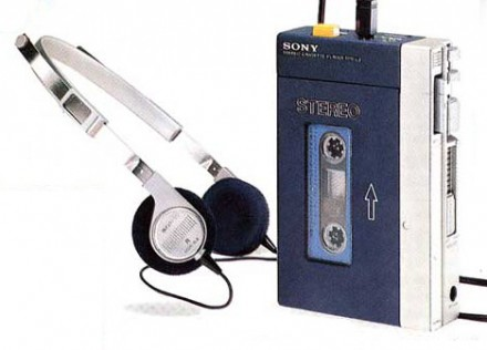 The original Sony TPS-L2 Walkman (1979)