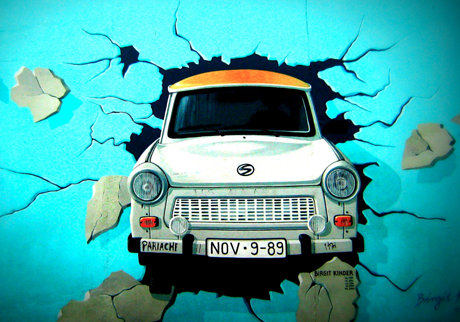 Berlin Wall Trabant